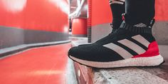 Red Limit ACE 16  UltraBOOST Unveiled by adidas Adidas Boots, Nike Shoes, Adidas Sneakers, Winter Outfits, Summer Outfits, Casual Outfits, Teen Fashion, Fashion Tips, Fashion Trends