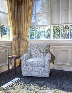 Mayo Furniture 2170 Fabric Swivel - Peplum Cloud