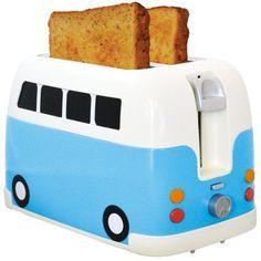 Der Toaster Campervan ist ein schönes Geschenk für Campingfreunde und als Dekoartikel zur Wohnungseinweihung. Praktischer und dekorativer Toaster.