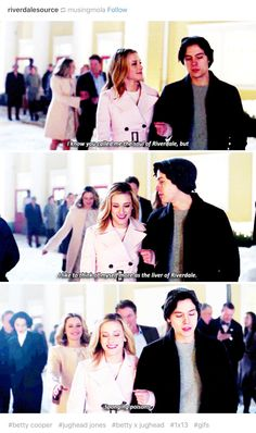 My god Jughead, just take the compliment. He is so emo.