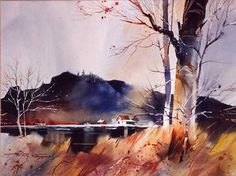 Beautiful Watercolor Painting by American Artist Tony Couch Watercolor Tips, Watercolor Projects, Watercolor Artists, Watercolor Landscape, Watercolour Painting, Landscape Art, Landscape Paintings, Zebra Art, California Art