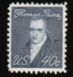 Literary Stamps: Paine, Thomas (1737 – 1809)