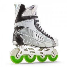 Mission Inhaler AC2  Roller Hockey Skate Roller Hockey Skates, Ice Hockey, Air Max Sneakers, Sneakers Nike, Ac2, Cleats, Nike Air Max, Football, Skateboarding