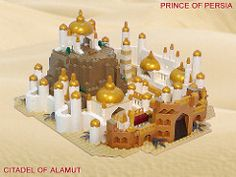 LEGO Prince of Persia MOC - Alamut Gate - Hero shot! Description from…