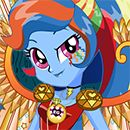Legend Of Everfree Crystal Wings Rainbow Dash