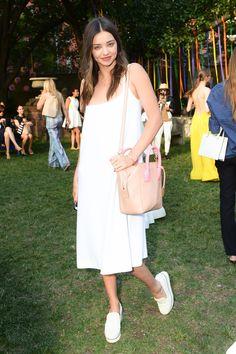 WHO: Miranda Kerr WHERE: Stella McCartney resort 2016 presentation WHEN: June 8, 2015