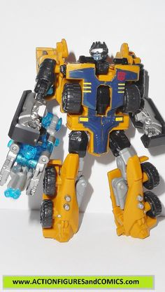 transformers powercore combiners HUFFER CALIBURST 2009 hasbro
