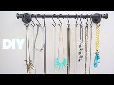 DIY Room Decor: Jewelry Organizer/ Jewelry Display