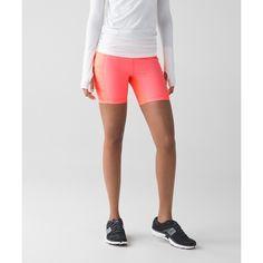 Lululemon Athletica Speed Track Short ($29) ❤ liked on Polyvore featuring activewear, activewear shorts and lululemon