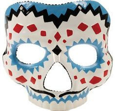 Day of the Dead Male Adult Mask Realistic Colored Mexico Day Party Halloween * You can find out more details at the link of the image.
