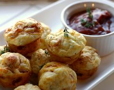 Holiday Appetizers that Rock: One Bite Pepperoni Pizza Puffs