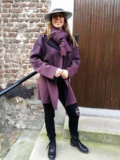 FFC jas in de Mix & Match met een jeans en boots van Marc Cain. Sale   #HBMODE, Ommen: Fashion in Overijssel