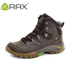 1710230fc59 HAZ CLICK EN LA IMAGEN - RAX hombres mujeres impermeable profesional zapatos  de senderismo de cuero botas de escalada al aire libre botas de montaña  Camping ...