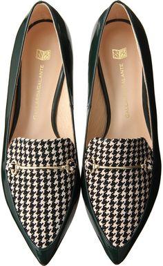 GALLARDAGALANTE Loafer on ShopStyle loved by www.cosmeticsdelux.blogspot.gr #sandalsheelslow