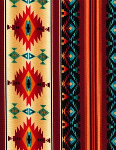 Timeless Treasures Fabric Southwest Sunset by BelloBerryFabricShop. , via Etsy.