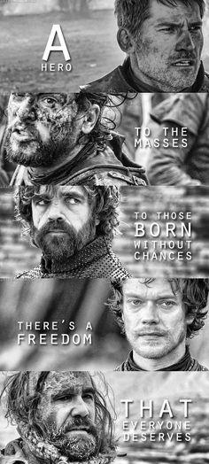 Game of Thrones heroes