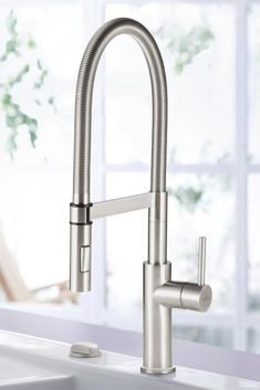 Blanco, Diva Faucet in Stainless Steel