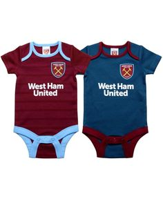 Novelty Football West Ham Baby Bodysuit