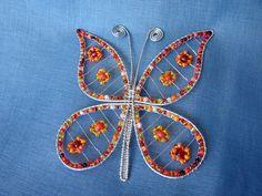 motýľ - brošňa