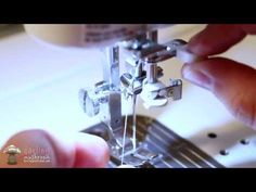 How to Thread a Sewing Machine: Juki-TL 2010Q - YouTube