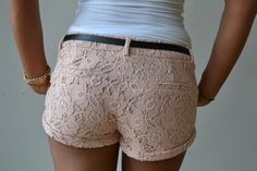Sweet Lace Shorts
