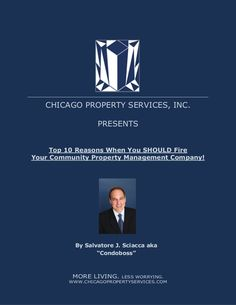 Top 10 Reasons When You SHOULD Fire Your Management Company by Salvatore Sciacca via slideshare