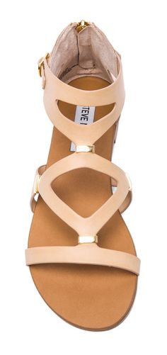 Nude sandals