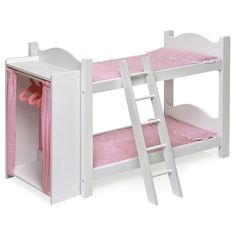 18 inch doll bunk bed set for my daughter - found it at #wayfair