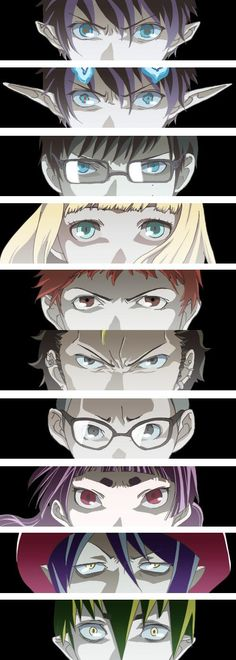 Blue Exorcist, Just started this series. On episode 4... pretty good (: I love it haha
