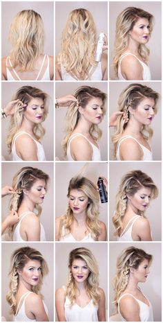 Simple Easy Step by Step Hair Tutorials
