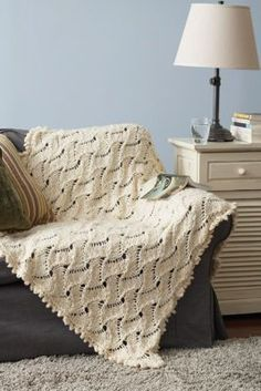 Free Pattern: Lazy Waves Afghan.