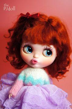 thePJdoll Wendy Custom Blythe Doll/OOAK handmade by ThePJdoll