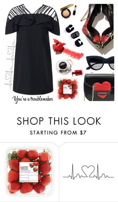"""""""Troublemaker!"""" by wannanna ❤ liked on Polyvore featuring Dolce&Gabbana"""