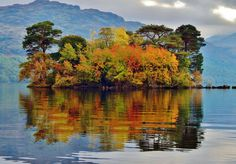 Loch Lomond Island - Autumn.