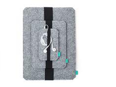 MacBook pro sleeve MacBook pro cover felt MacBook by GopherShop