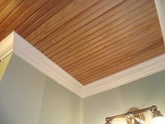 Serendipity Chic Design: Putting up a bead board ceiling tutorial