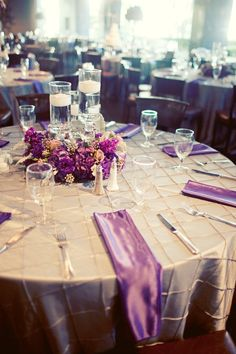 Outdoor Weddings, Vintage Wedding, Classic Wedding, Purple Hydrangeas, Purple and Silver, Posh Floral Designs,