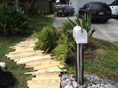 IMG 0443 600x450 Pallet Walkways in pallet garden pallet outdoor project  with Walkway Pallets Garden