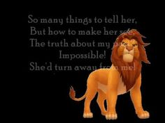 Can You Feel the Love Tonight? - The Lion King I LOVE THE LION KING!!!!!!!!!!!!!!!!!!!!!!
