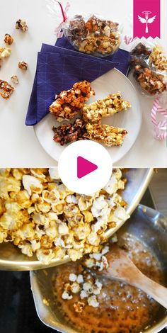 So lieben wir #popcorn Popcorn, Cereal, Breakfast, Desserts, Gifts, Food, Pies, Few Ingredients, Goodies