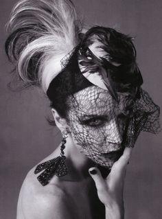 Jamie Bochert, Steven Meisel  Vogue Italy 2010