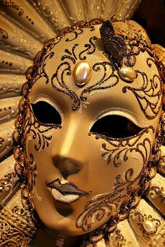 Venetian Mask by Henry Kowalski
