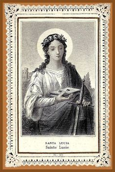 """Lucy's feast is celebrated during the season of Advent, when we wait for the coming of Christ our Light. Lucy, whose name means """"light,"""" . Dorothy Day, Francis Xavier, Gift Of Faith, Advent Season, Thunder And Lightning, Feeling Hopeless, Immaculate Conception, Make Ready, Santa Lucia"""