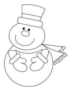 Snow Crafts, Diy And Crafts, Christmas Crafts, Crafts For Kids, Paper Crafts, Coloring Books, Coloring Pages, Sunday School Projects, Winter Clipart
