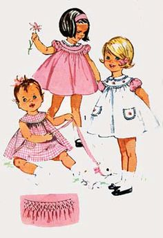 Vintage 50s Simplicity 4916 Toddlers CUTEST by sandritocat on Etsy, $10.00