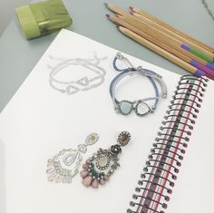 Inspired by the world around us, each #chloeandisabel jewelry design is hand-drawn from their NYC studio!
