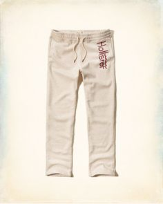 be32c489ac Guys Hollister Logo Graphic Sweatpants