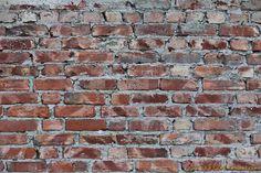 Grungy old brick wall