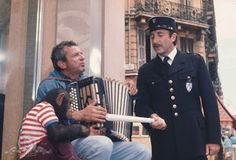 Keystone cop. Peter Sellers from the pink panther movie