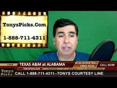 Texas A M Aggies vs. Alabama Crimson Tide Pick Prediction College Basket...